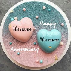 Happy Marriage Anniversary Cake, Anniversary Cake Pictures, Anniversary Cake With Photo, Happy Wedding Anniversary Wishes, Anniversary Greeting Cards, Anniversary Cookies, Wedding Anniversary Photos, Anniversary Funny, Birthday Pictures