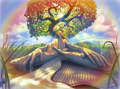 How to Cleanse your Aura by Absorbing Nature's Light Field- Auras are an energy field that radiates from the different chakras or energy centers from within a person and then surround each person with what some can see as a visible color halo. If you focus enough you can see this halo of these colors a few inches from the person's body. Kind of like if you would squint your eyes when someone is in front of you their outline would double.