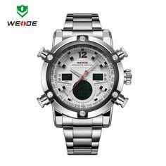 ebddb6c1da WEIDE 2018 NEW Luxury Brand Sport Watches Men s Quartz Clock Male Army  Military Wrist Watch Relogio Masculino Hours Wristwatches. Product ID