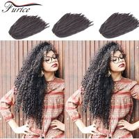Fake Hair Crochet Hair Extensions Afro Kinky Marley Braiding Kinky Twist Crochet Braids Afro Curly Hairstyles For Beauty Girl