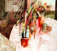 Shirley Trevena (British) ~ watercolor