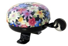 Bicycle Bell Colorful Blossoms - order via info@bonniebikes.com