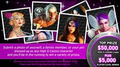 You should enter High 5's Character Costume Party! There are great prizes and I think one of us could win!