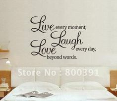 wall sayings decor