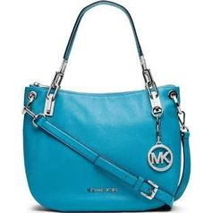 MICHAEL Michael Kors MK Brooke Medium Pebbled Leather Shoulder Bag