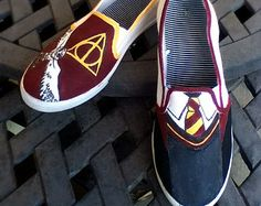 Harry Potter Shoes (made to order)
