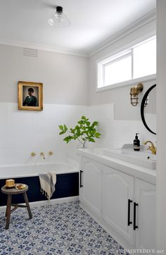 DIY Budget-Friendly Bathroom Redo