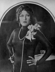 Gloria Swanson from Erich von Stroheim's Queen Kelly (1929)