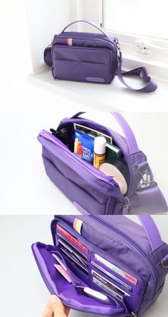The Better Together Daily Bag v2 is an excellent daily bag to easily organize various items and carry them with ease! This beautiful bag is well-made and is made practical by including lots of pockets. A shoulder strap is included with the bag, and it allows the bag to be used as a crossbody bag or a shoulder bag! If you detach the strap, you can also carry it as a tote bag. Give A Little, Kawaii Stuff, Crossbody Bag, Tote Bag, Paper Organization, Diy Bags, Better Together, Suitcases, Beautiful Bags
