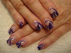 purple smoothie by carlapatra - Nail Art Gallery nailartgallery.nailsmag.com by Nails Magazine www.nailsmag.com #nailart
