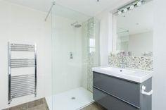 walk in shower - converted smallest bedroom