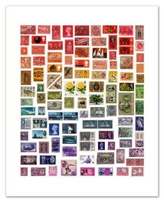 stamps. from coquette and dove's blog.