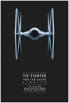 Star Wars - Tie Fighter by Thong Lee *