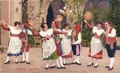 Klederdrachten Europa 144X  - Diverse landen in Europa-1900/1930
