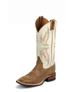 """YES I will """"PIN-IT to WIN-IT""""  Women's Tan Puma Cowhide Boot"""