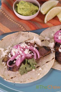 Serve up some street food at your next party with these delicious Steak Tacos with Chimichuri!