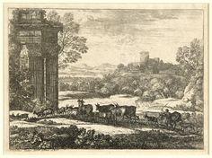 Le Troupeau en marche par un temps orageux (The Herd Returning in Stormy Weather) – Works – Collection – Art Gallery of Guelph