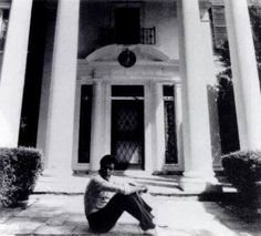 March 17, 1957 - Elvis Presley purchases Memphis' Graceland mansion, featuring 23 rooms and 10,000 square feet of space on 13.8 acres, for $102,500 this is a pic from a movie about Elvis