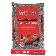 $33 - 15 lbs.  -  Amazon.com: Wild Delight 376150 Cardinal Wild Bird Barrier Food Bag with Handle, 15-Pound: Patio, Lawn & Garden
