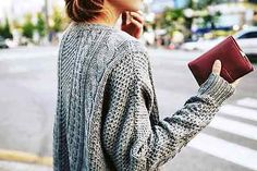 it's officially sweater weather.