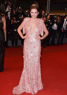 All the Celebrity Looks from the 2017 Cannes Film Festival Red Carpet - Elizabeth Olsen from InStyle.com