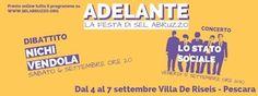 Adelante!La festa di SEL Abruzzo