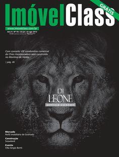 Capa da Revista ImóvelClass edição 93! Destaque de capa do empreendimento Di Leone Office Center, da Chies Incorporadora.