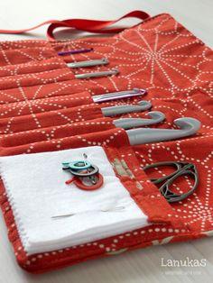 Lanukas: Una funda para mis ganchillos #crochet #cover