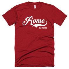 ROME EST 753 BC Short sleeve soft t-shirt