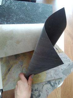 Каменный шпон или гибкий камень. Дизайн дома, ванной комнаты и мебели. Stone veneer and flexible stone. Home design, bathroom and furniture.