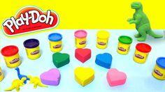 play doh heart shape surprises