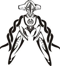 Pokemon Deoxys Tattoo Idea