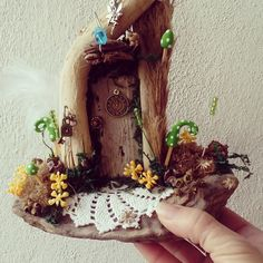 new fairy doors by jansfabfairies on facebook