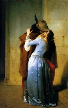 "Francesco Hayez (italian painter) - ""The kiss"""