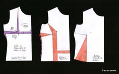 FBA adjustment - Simplicity on left does not make pattern so wide as the Palmer Pletsch does. From so so sewist.