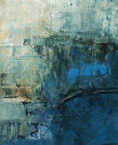 """<b>Blue Immersion</b><br>Acrylic on Unstretched Canvas, 15 X 12""""<br>Available"""