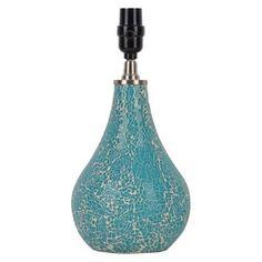 Xhilaration® Mosaic Teardrop Lamp Base Teal (Includes CFL Bulb)