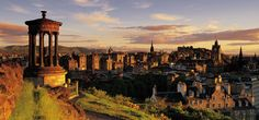 Edinburg,Scotland. For our 30th Anniversary we went to London and Scotland. Love both the old city and the New.