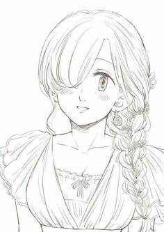 Anime Seven Deadly Sins, Elizabeth Seven Deadly Sins, 7 Deadly Sins, Meliodas And Elizabeth, Elizabeth Liones, Beautiful Anime Girl, Anime Love, Seven Deady Sins, Naruto Girls