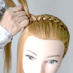 Cut Own Hair, 5 Minute Crafts Videos, Creative Hairstyles, Toddler Hair, Beauty Nails, New Look, Hair Makeup, Make Up, Long Hair Styles