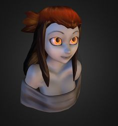 """Shina Bust"" by xdraws on Sketchfab"