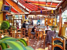 The Magic Bean in Quito, Ecuador  One of my favorite places in the entire world