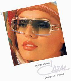 57f2f97f4e8 Vintage Cazal Sunglasses Ads