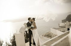Keirstyn was one of our Real brides who married in Greece in our amazing Melanie gown. Wow look at that veil shot! Gown from Bertossi Brides at Paddington Weddings