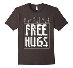 Free Hugs Shirt - White, Funny, Cute Gift hugger