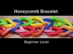 Rainbow Loom® Honeycomb Bracelet