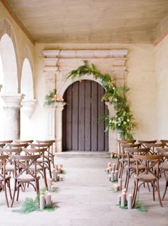 Intimate rustic ceremony inspiration: http://www.stylemepretty.com/2015/06/18/elegant-mexico-wedding-inspiration/ | Photography: Jose Villa - http://josevilla.com/