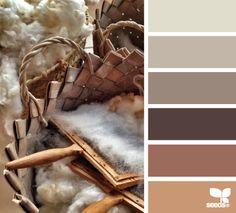 artisanal tones - voor meer #kleur #inspiratie kijk ook eens op http://www.wonenonline.nl/interieur-inrichten/kleuren-trends/