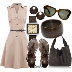 Great summer outfit!  Can work for so many occasions.