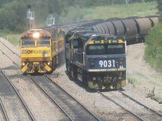 Australia Sandgate Old And New, Trains, Australia, History, Driveways, Iron, Historia, Train